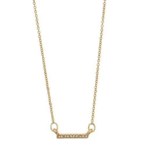 LC Lauren Conrad Pave Bar Necklace