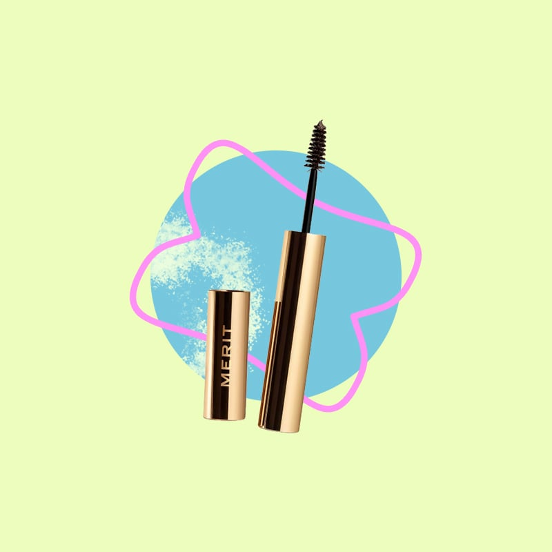 Besides mascara, brow gel is the only other product you'll find on my face these days. A couple swipes of the Merit Brow 1980 Volumizing Pomade ($24) leave my brows looking naturally fluffy and full.