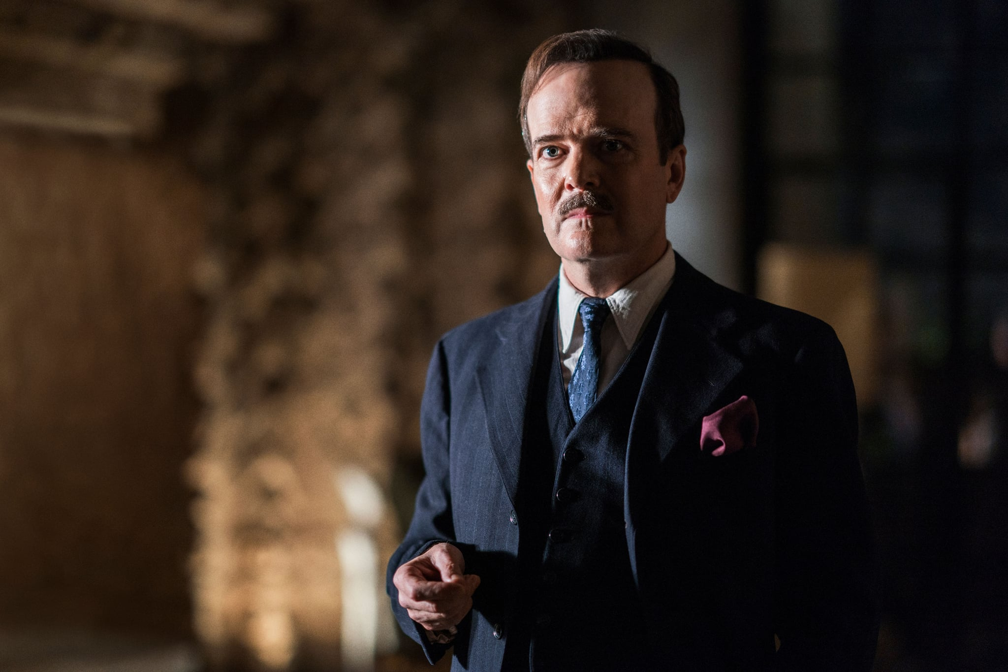 I AM THE NIGHT, Jefferson Mays in 'One Day She'll Darken', (Season 1, Episode 101, aired January 28, 2019). ph: Clay Enos / TNT / courtesy Everett Collection