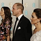 Pictured: Prince William and Kate Middleton