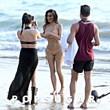 You Can't Miss Kim Kardashian's Thong-Bikini Photo Shoot