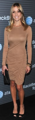 Kristin Cavallari Wears ALC Dress to BlackBerry Party in LA