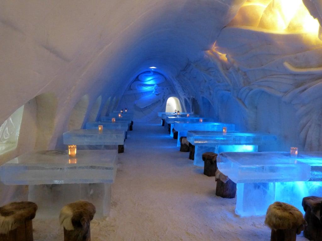 Snowcastle Of Kemi Finland Adventurous Dining