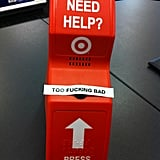 """As a Target employee, its easy to get fed up."" Source: Reddit user cheapdrummer via Imgur"
