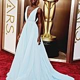Lupita Nyong'o at the 2014 Academy Awards