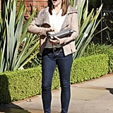 Jennifer Garner stepped out in LA.