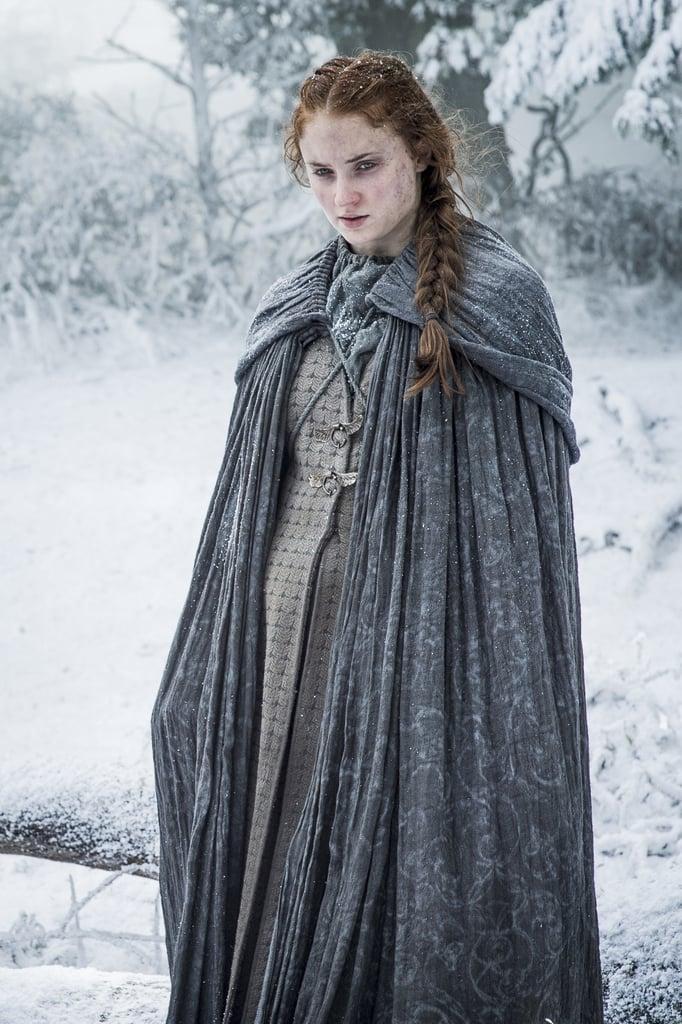 Sansa's French Braid