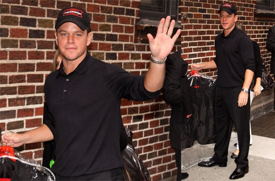 Photos of Matt Damon on The Late Show