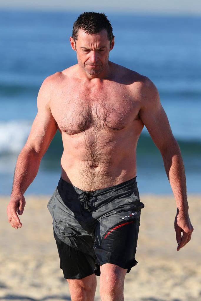 Hugh Jackman Shirtless in Australia Pictures August 2016 ...