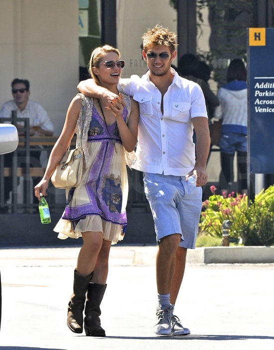 Dianna Agron and Alex Pettyfer Engaged | POPSUGAR Celebrity