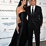 George Clooney and Amal Alamuddin Red Carpet Pictures