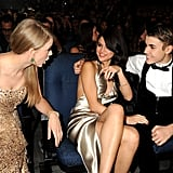 2011: Taylor Swift Also Third-Wheeled With Selena and Justin Bieber