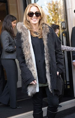 Faux Fur-Lined Jacket Trend
