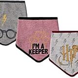 Harry Potter Baby 3-Pack Bandana Bibs