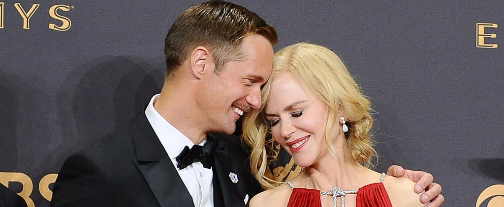 Nicole Kidman Talks About Kissing Alexander Skarsgard