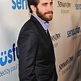 Jake Gyllenhaal looked handsome in a suit at the Lincoln Center in NYC.