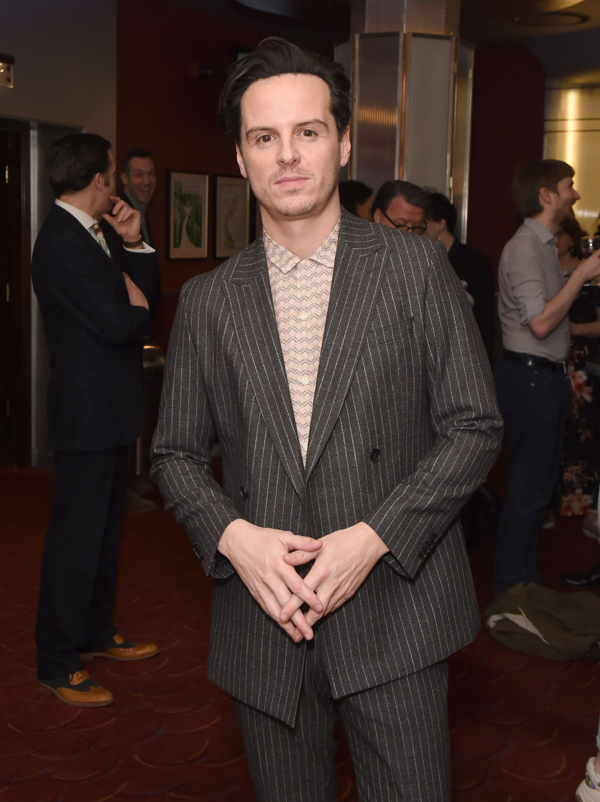 LONDON, ENGLAND - MARCH 01:  Andrew Scott attends The WhatsOnStage Awards 2020 at The Prince of Wales Theatre on March 1, 2020 in London, England.  (Photo by David M. Benett/Dave Benett/Getty Images)