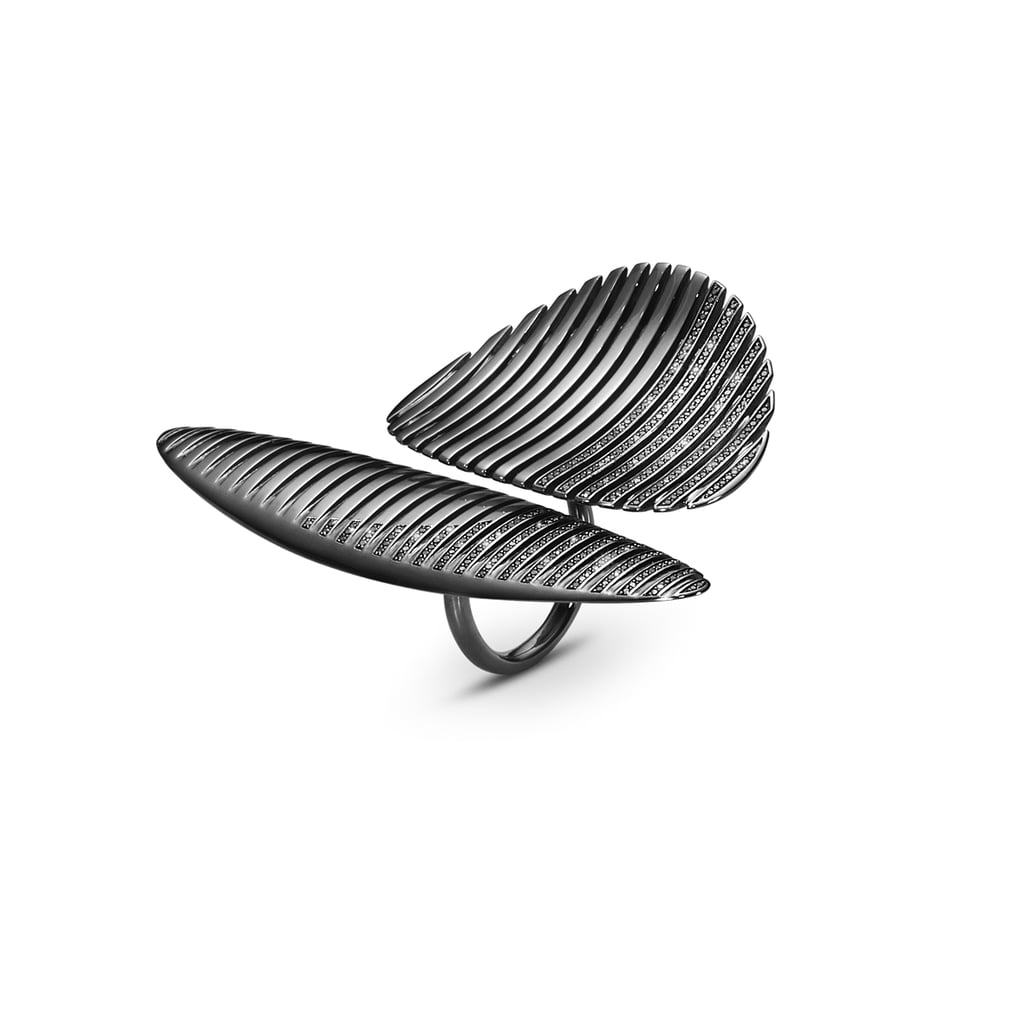 Zaha Hadid Lamellae Jewelry Collection With Georg Jenson