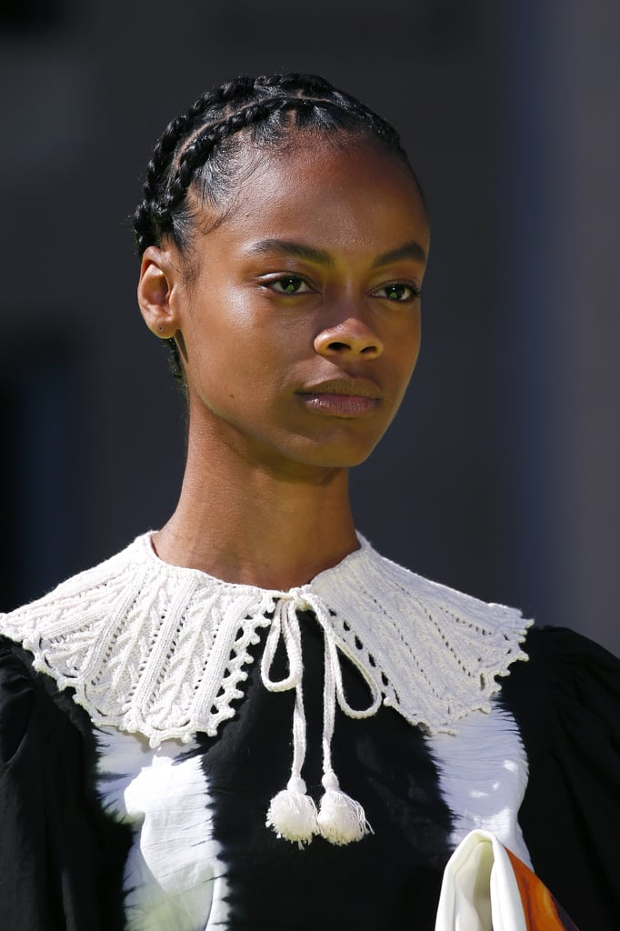 Beautiful Braids at MSGM Spring 2020