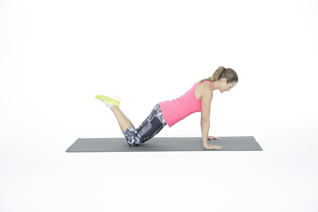 Modified Plank on Knees