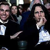 Dave Franco as Greg Sestero and James Franco as Tommy Wiseau