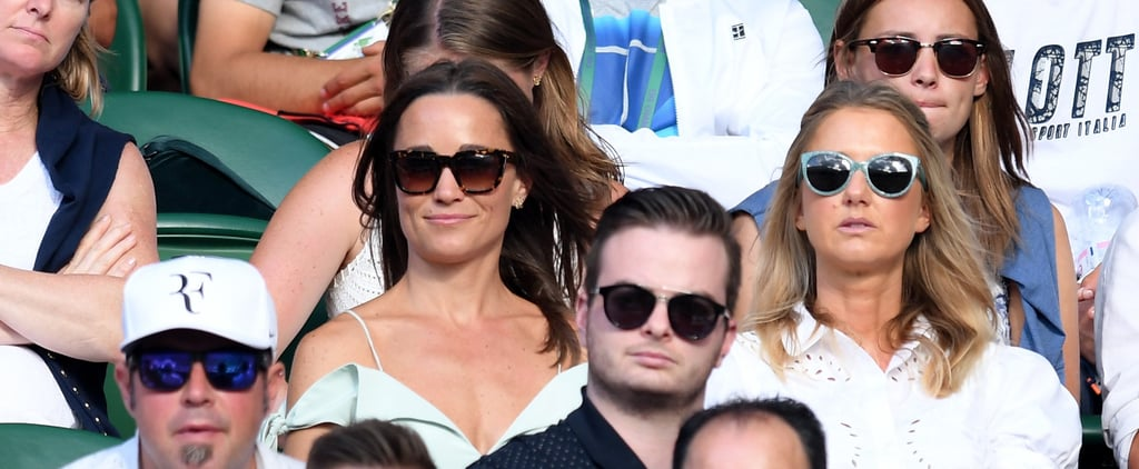 Pippa Middleton Might Have Found Summer's New Shade With Her Wimbledon Dress
