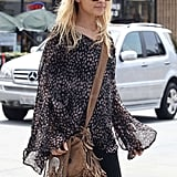 Nicole Richie Goes With the Flow Following a Fun Night Out