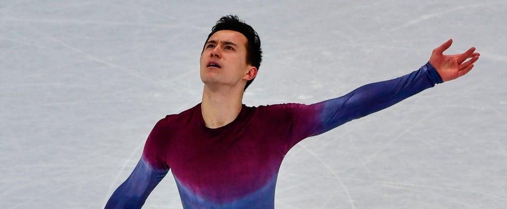 "Figure Skater Patrick Chan's Routine to ""Hallelujah"""