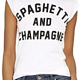 Spaghetti and Champagne Tee