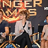 Jennifer Lawrence chatted about The Hunger Games with Miami fans.
