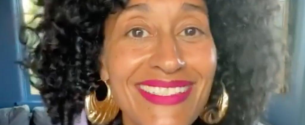 Tracee Ellis Ross Celebrates Black Beauty, Pattern Haircare