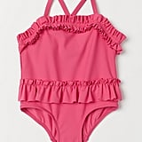 H&M Kids Ruffled Swimsuit