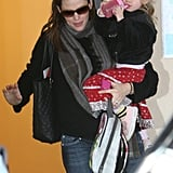 Jen Picks Up Violet From School