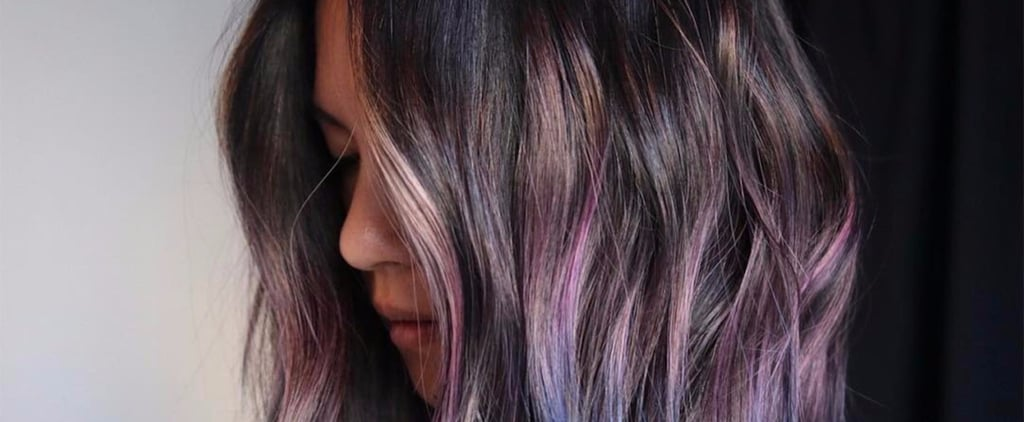 Our Obsession With Rocks Is Officially Crystallized With the Geode Hair Trend
