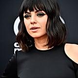 Mila Kunis's Blunt Bangs