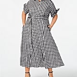 Calvin Klein Gingham Midi Shirtdress