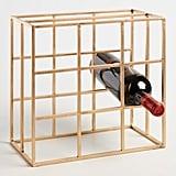 Gold Box Wine Rack ($24)