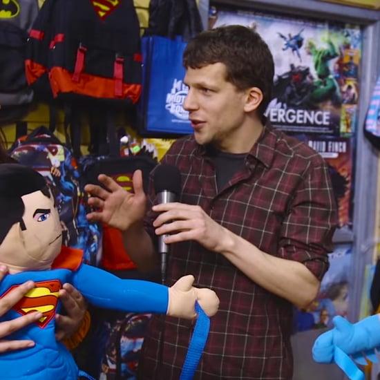 Jesse Eisenberg Asks Comic Fans About Batman vs. Superman