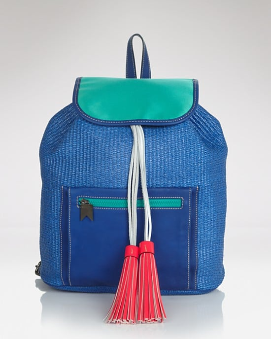 Meredith Wendell's Backstroke Rucksack ($495) is a favorite among Fashion Week fixtures.