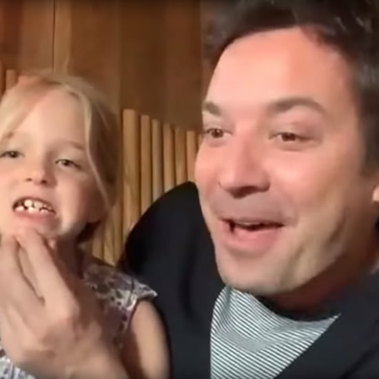 Jimmy Fallon's Daughter Loses Tooth During Interview | Video