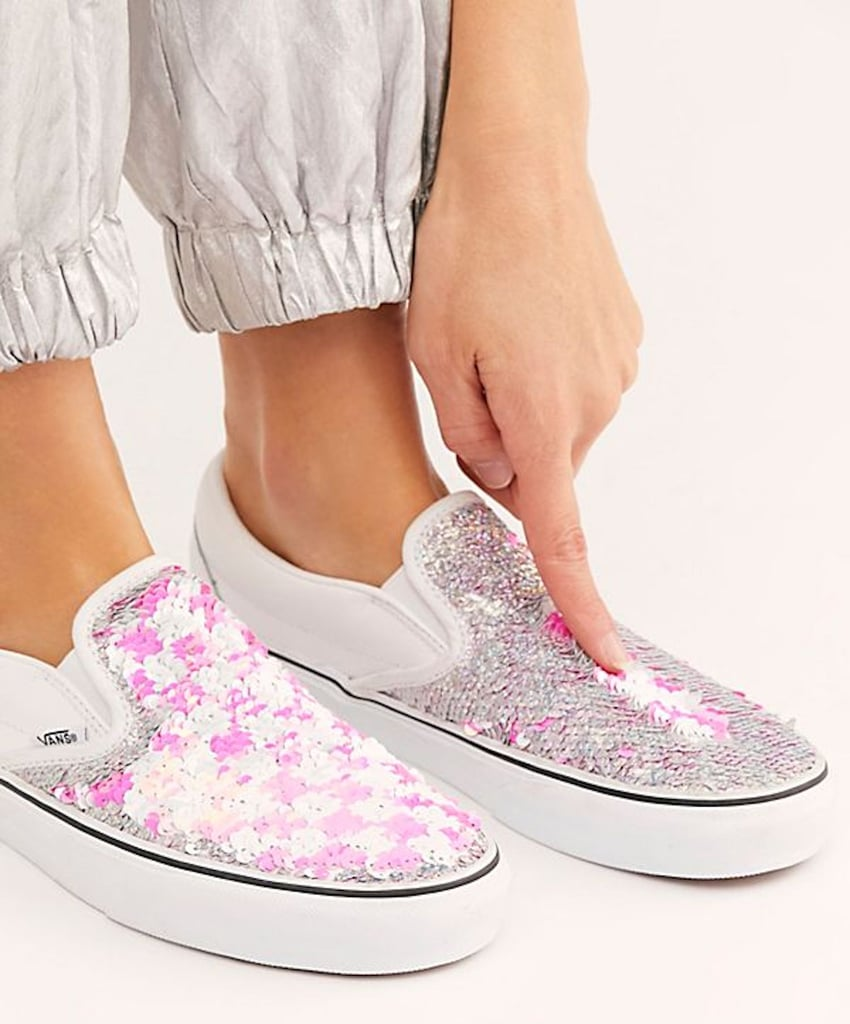 New Vans Sequin Sneakers 2019