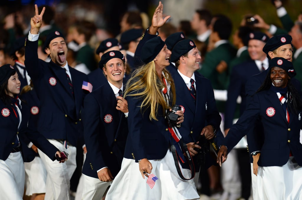 Team USA's Opening Ceremony Outfits at the London 2012 Olympic Games