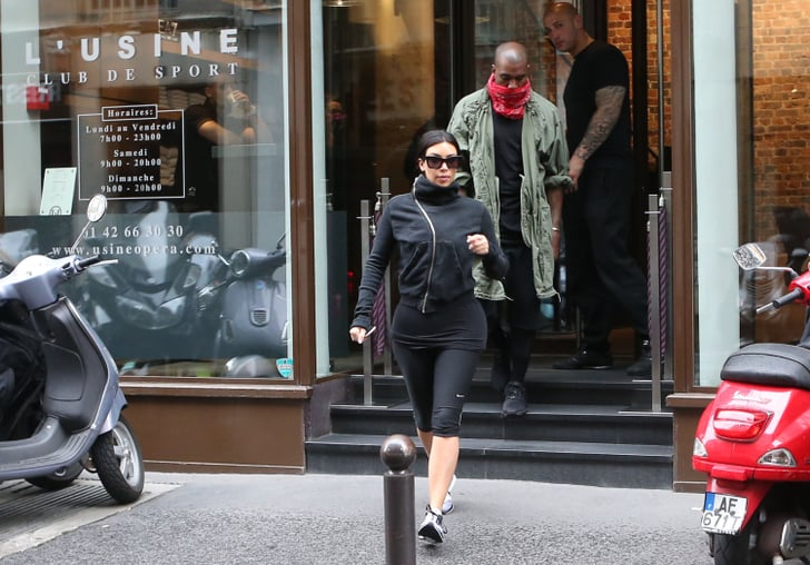 Kim and Kanye: The Couple That Sweats Together, Stays Together!