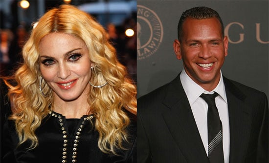 Photos of Madonna and Alex Rodriguez, Who Were Seen Having Dinner Together at Dos Caminos Restaurant in NYC
