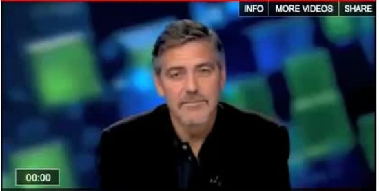 Video Of George Clooney Talking About Getting Malaria 2011-01-20 13:42:59