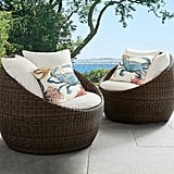 Torrey All-Weather Wicker Papasan Chair