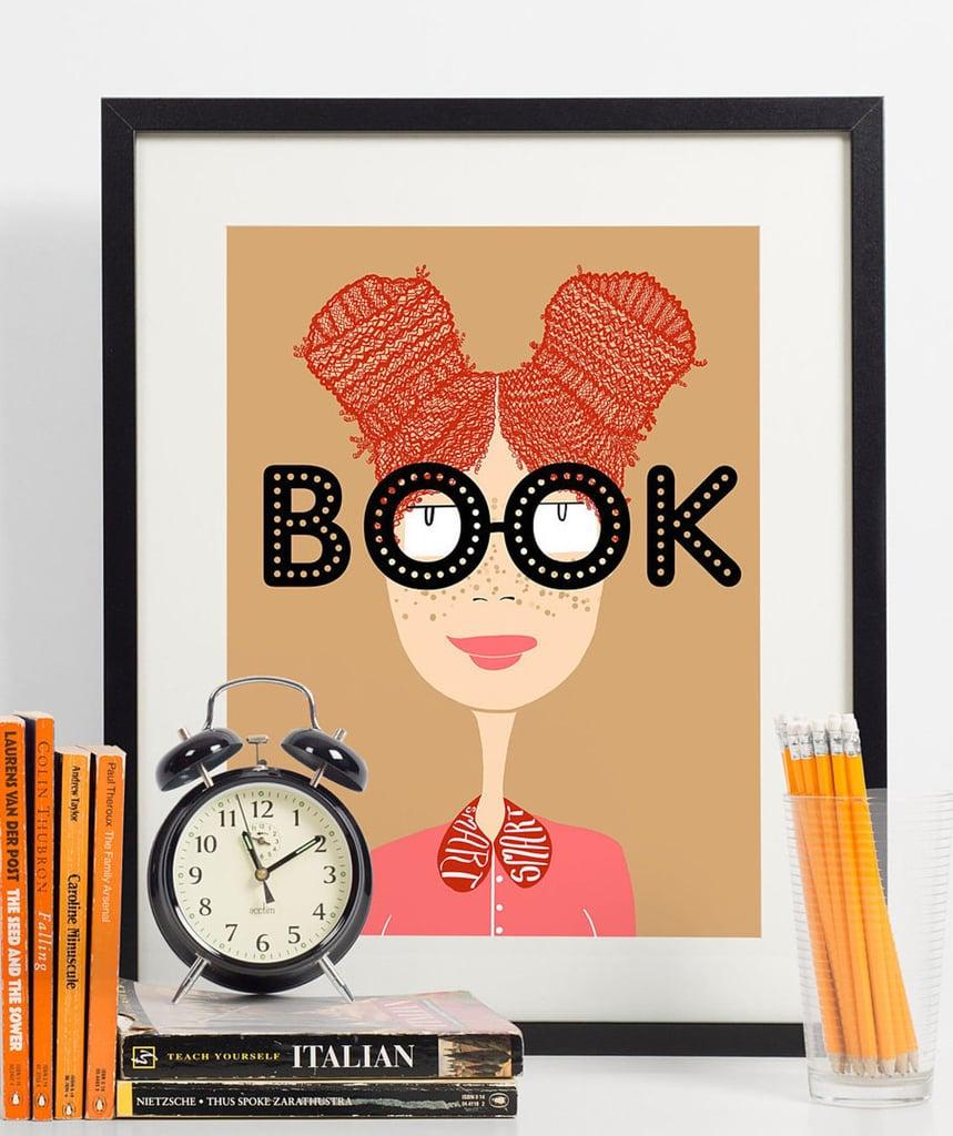 Book Smart Print