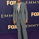 Ryan Jamaal Swain at the 2019 Emmys