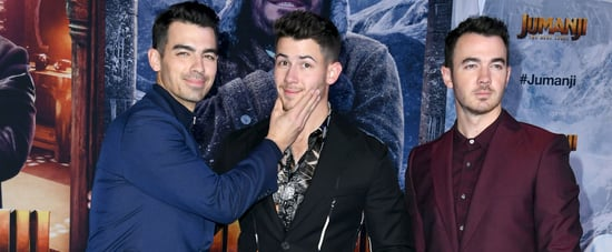 Jonas Brothers at Jumanji: The Next Level​ Premiere Pictures
