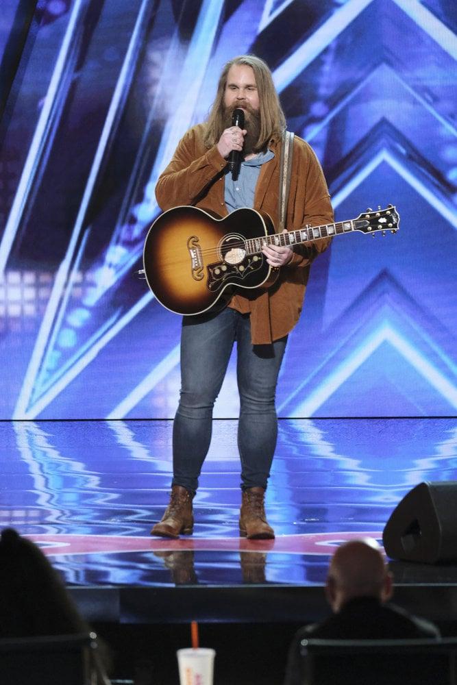 "Chris Kläfford America's Got Talent ""Imagine"" Audition Video"